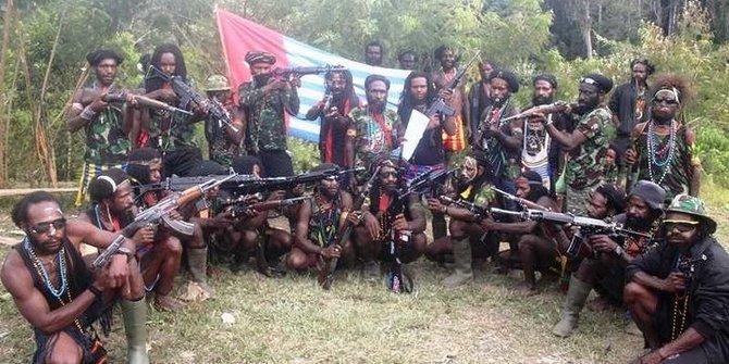 Mengupas Kekuatan KKB Pembantai Pekerja Trans Papua