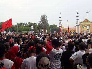 Viral di Medsos, Kampanye Jokowi di Dumai Pakai Massa Naturalisasi