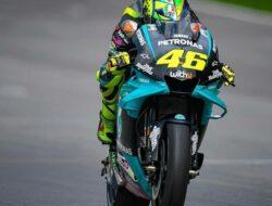 Kesan Valentino Rossi Beraksi Bersama Petronas Yamaha SRT