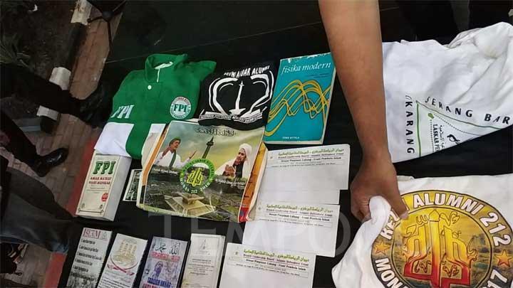 Polda Metro Jaya Lidik Keterkaitan FPI dengan Terduga Teroris Condet