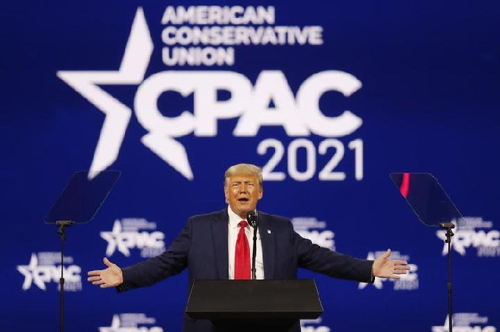Donald Trump Luncurkan Situs Baru untuk Jangkau Pendukungnya