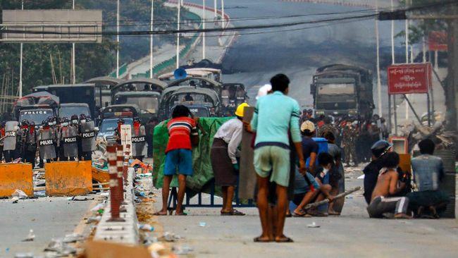 Junta Militer Kembali Memutus Akses Internet di Myanmar