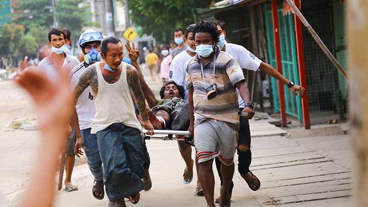 Pasukan Keamanan Myanmar