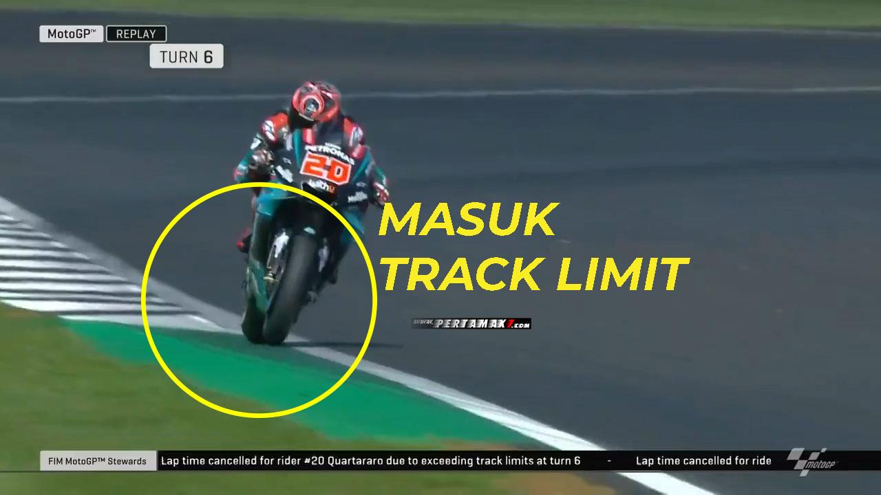 Race Director MotoGP Perketat Track Limit dengan Sensor Tekanan