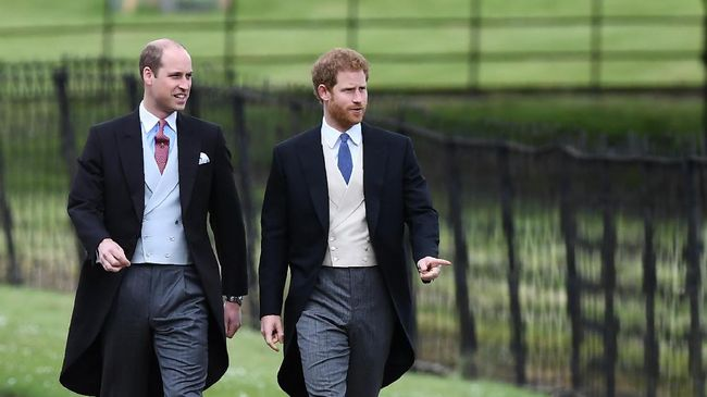 Pangeran William dan Pangeran Harry