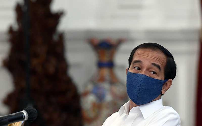 Presiden Jokowi Mengatakan Anggaran Negara Lagi Terguncang