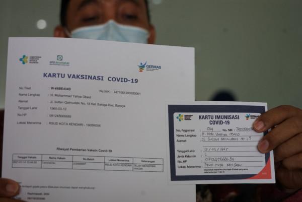 Sertifikat Vaksinasi Covid-19