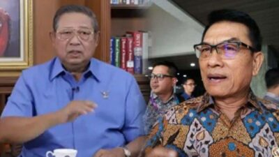 Susilo Bambang Yudhoyono Murka pada Moeldoko