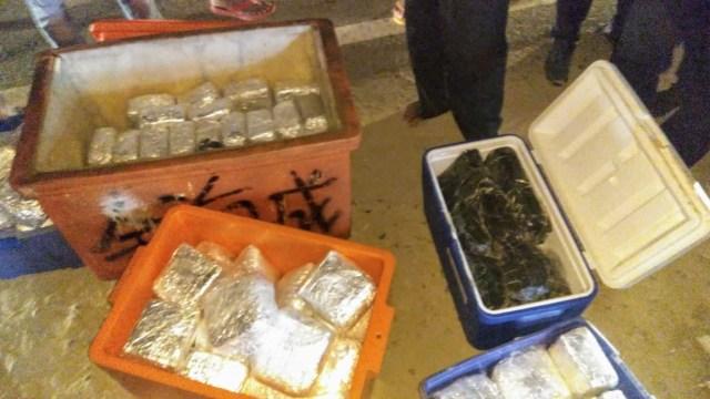 Polisi Menggagalkan Upaya Penyelundupan Narkoba Jaringan Malaysia