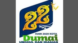 Logo HUT Ke-22 Kota Dumai Usung Motif Itik Pulang Petang