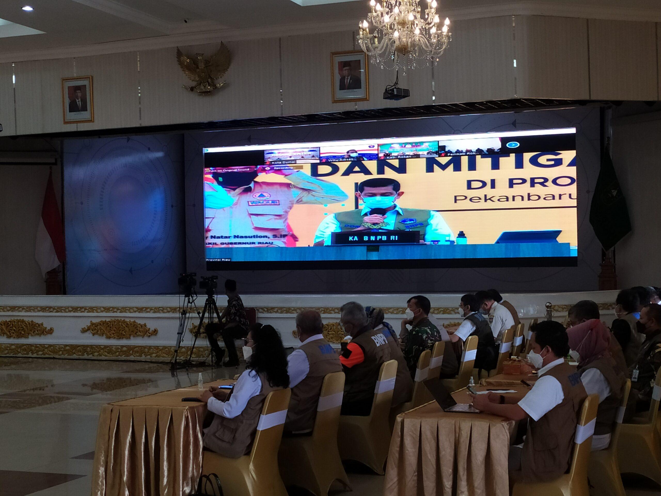 Wali Kota Dumai Malah Absen Rapat dengan Kepala BPNB