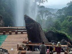 Gubernur Riau Undang Kemenparekraf ke Wisata Air Terjun Batu Tilam