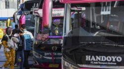 Jelang Larangan Mudik Lebaran 2021 Jumlah Penumpang Bus Meningkat