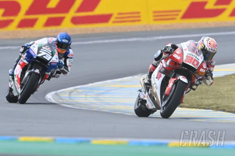 Takaaki Nakagami dan Alex Marquez MotoGP Prancis