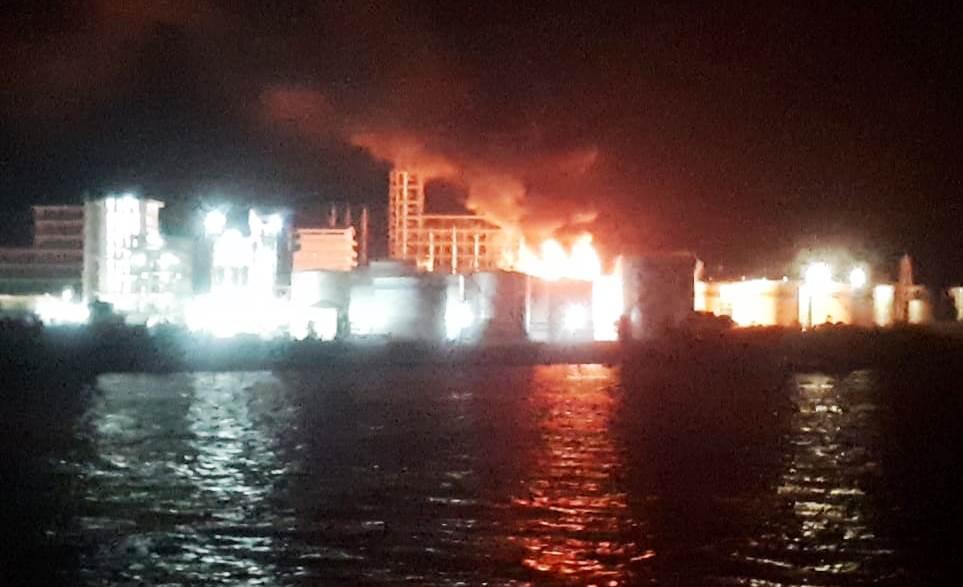 Kebakaran Pabrik PT Sari Dumai Oleo Diduga Menelan Korban Jiwa