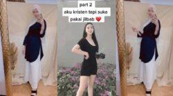 Viral Video Wanita Mengaku Beragama Kristen Suka Pakai Jilbab