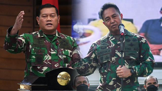 Adu Kuat Andika Perkasa dan Yudo Margono Rebut Kursi Panglima TNI