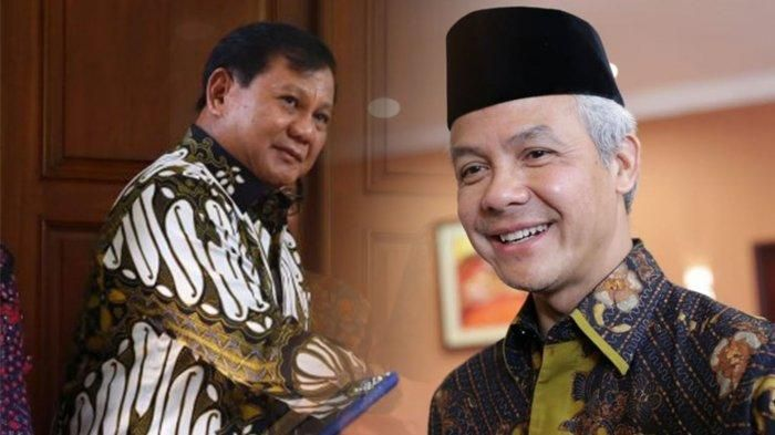 Elektabilitas Ganjar Pranowo Ungguli Prabowo Subianto