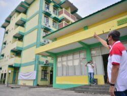 Gedung Asrama Haji Riau Jadi Rumah Sakit Darurat Covid-19
