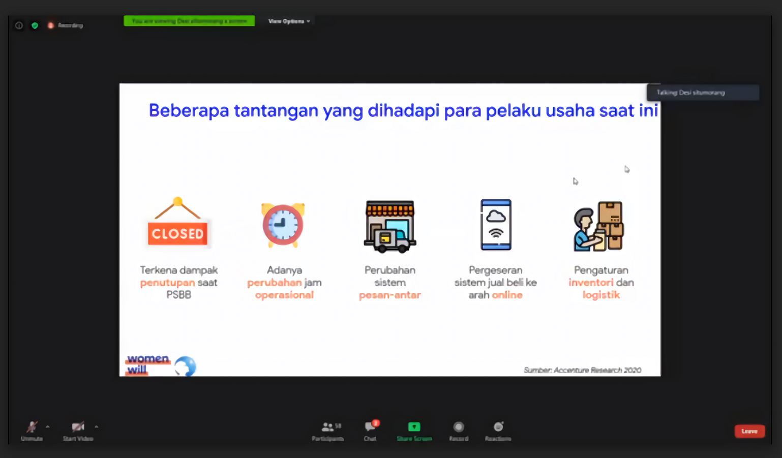 Pelatihan Digital Ibu Warung Anak Sehat saat Pandemi_1