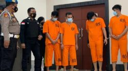 Polda Riau Amankan 108 Narkoba asal Malaysia dari Empat Tersangka