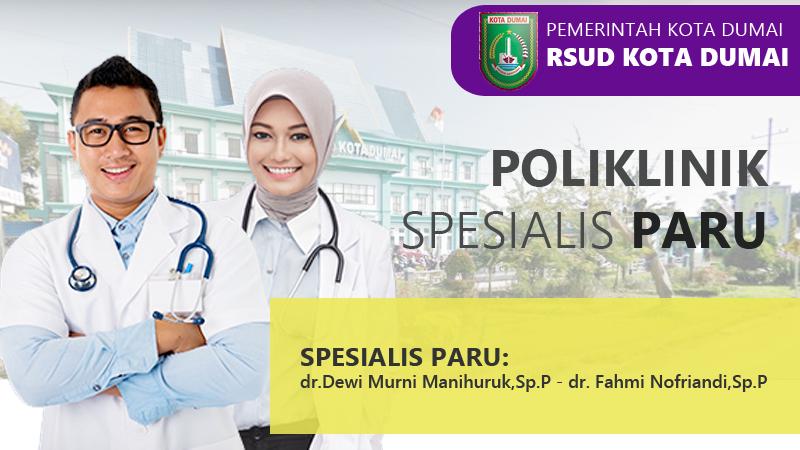 Poliklinik Paru RSUD Dumai: Menjaga Kesehatan Paru-Paru Penting