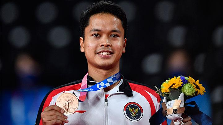 Anthony Ginting di Olimpiade Tokyo 2020