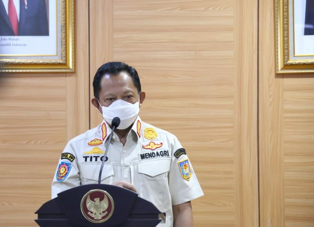 Mendagri Muhammad Tito Karnavian