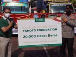 Tanoto Foundation Donasikan 300 Ton Beras Premium untuk Masyarakat
