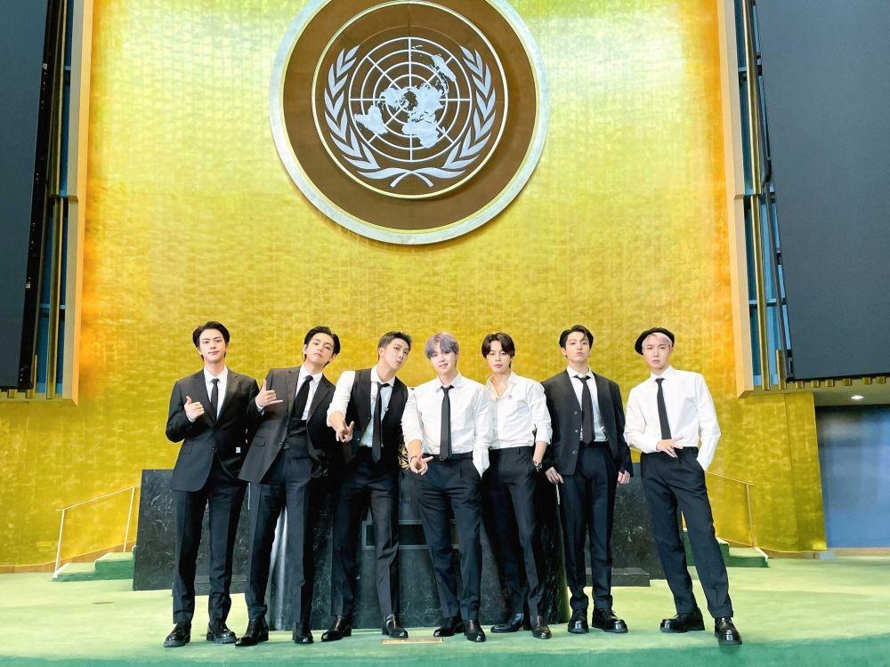 BTS yang Bisa Tampil di Sidang UNGA PBB