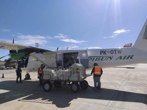 Pesawat Rimbun Air PK-OTW Ditemukan Dalam Kondisi Hancur