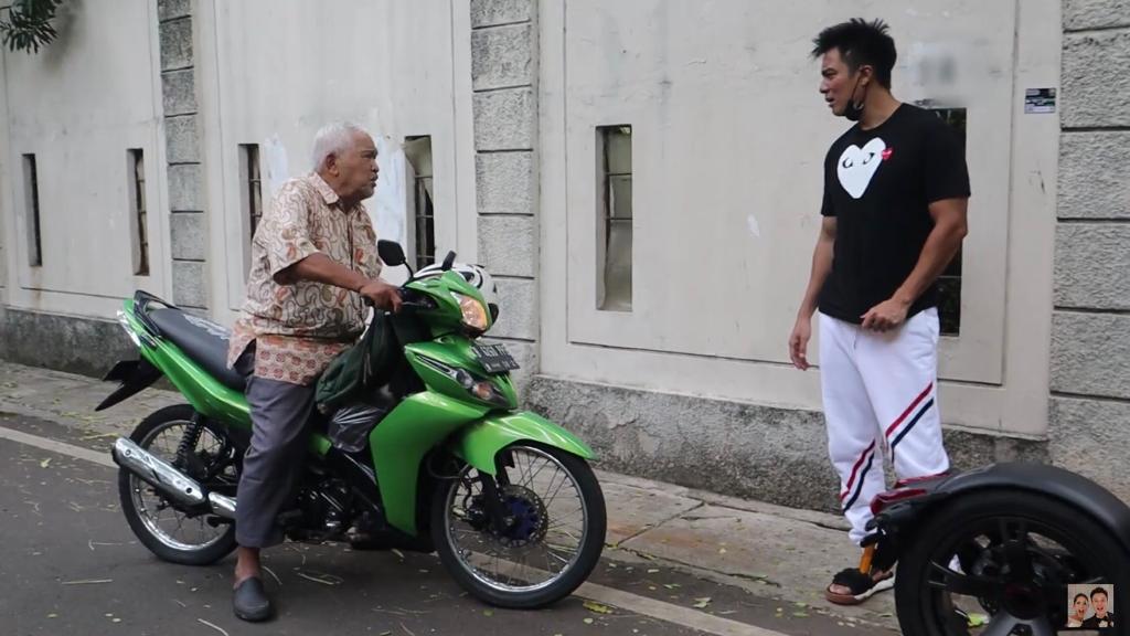 Baim Wong Tegur Kakek Sahud
