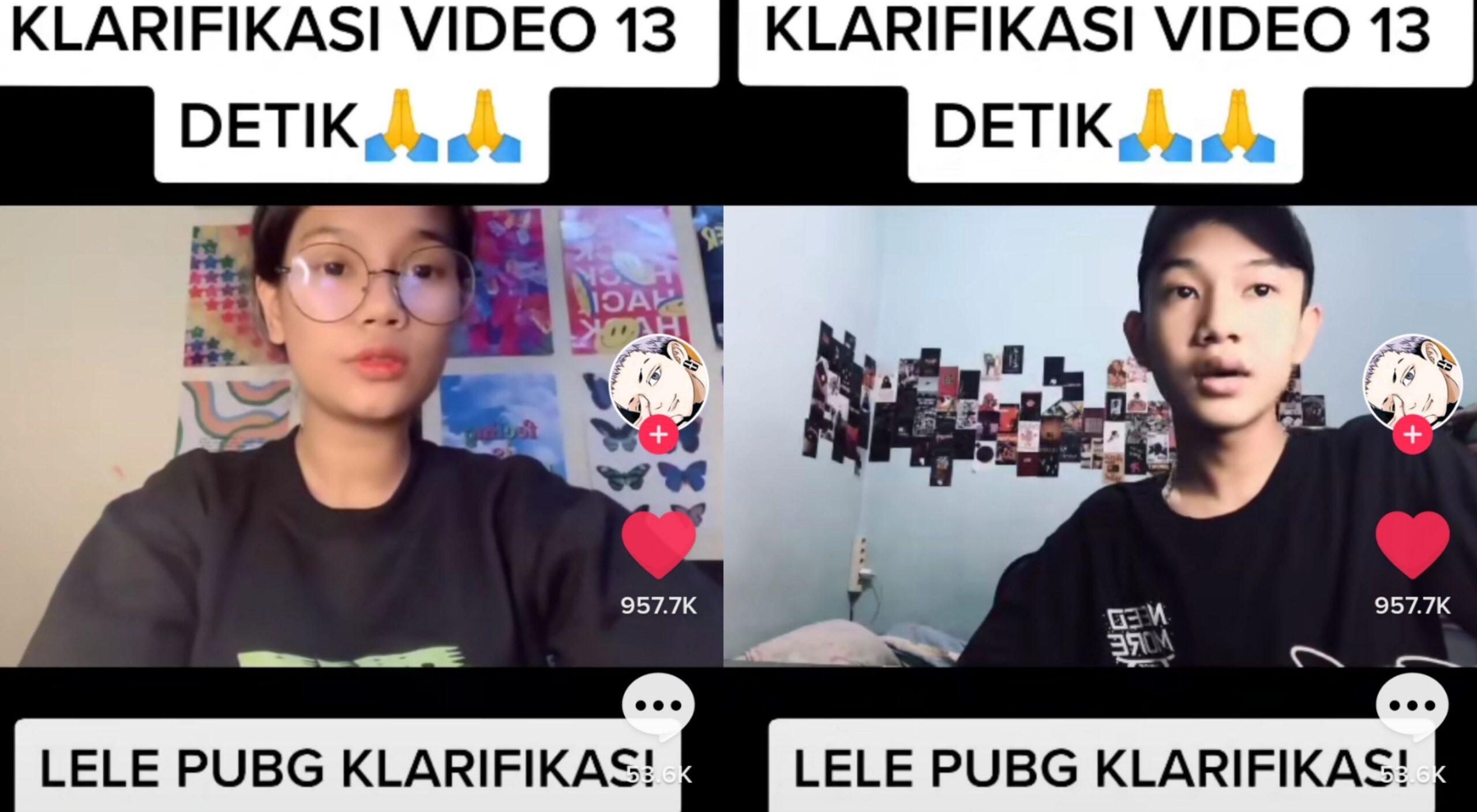 Video Viral Lele PUBG